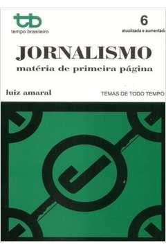 Jornalismo: Matéria de Primeira Página