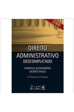Direito Administrativo Descomplicado- Caderno de Questões