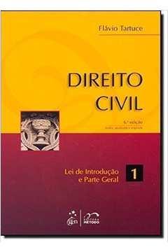 Direito Civil - Lei de Introdução a Parte Geral 1