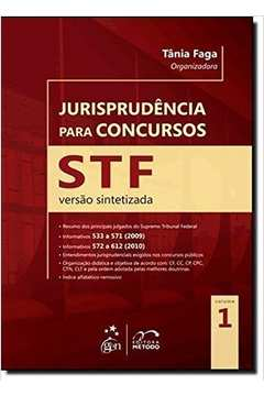 Jurisprudência para Concursos STF - Versão Sintetizada - Vol. 1
