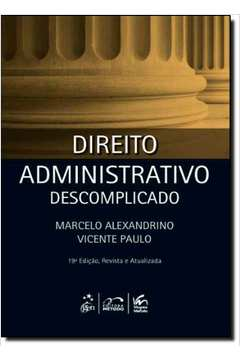Direito Administrativo Descomplicado - Caderno de Questões