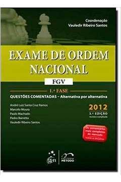Exame de Ordem Nacional 1 Fase Questoes Comentadas Fgv