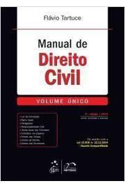Manual de Direito Civil Vol. Unico