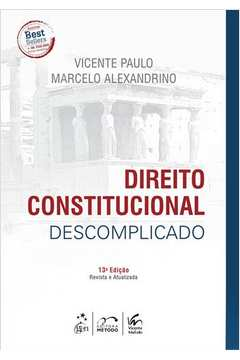 Direito Constitucional Descomplicado 13ª Edição