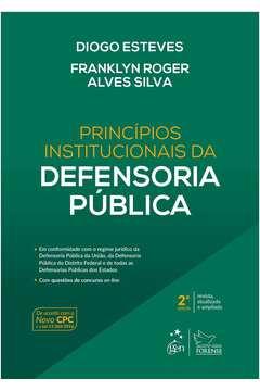 Princípios Institucionais da Defensoria Pública
