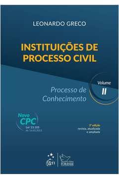 Instituições de Processo Civil: Processo de Conhecimento - Vol.2