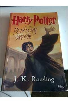 harry potter e as reliquias da morte parte livro