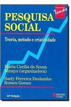 Pesquisa Social Teoria Metodo e Criatividade