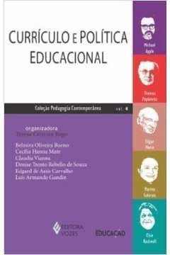 CURRICULO E POLITICA EDUCACIONAL