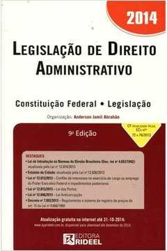 Legislação de Direito Administrativo