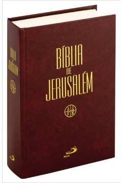 Bíblia de Jerusalém : Média Encadernada
