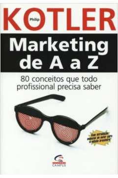 Livro Marketing De A A Z Philip Kotler Estante Virtual