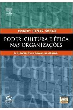 Poder Cultura e Etica Nas Organizacoes