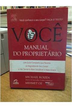 VOCE - MANUAL DO PROPRIETARIO