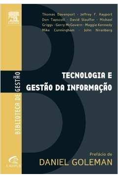 Tecnologia e Gestão da Informação