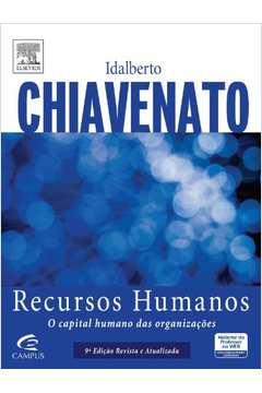 livro chiavenato recursos humanos o capital humano das organizaes