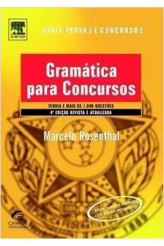 Gramática para Concursos. Teoria e Mais de 1. 000 Questões
