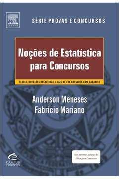 Noções de Estatística para Concursos - Coleção Provas e Concursos