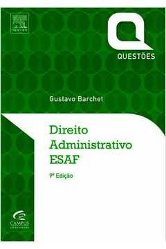Direito administrativo: questões da ESAF com gabarito comentado