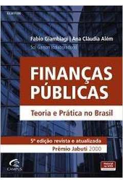 Finanças Públicas: Teoria e Prática no Brasil