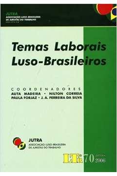 TEMAS LABORAIS LUSO-BRASILEIROS