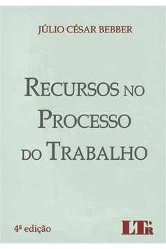 RECURSOS NO PROCESSO DO TRABALHO-04ED/14