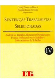 Sentencas Trabalhistas Selecionadas - Vol.4