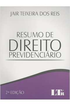 RESUMO DE DIREITO PREVIDENCIARIO - 02ED/15