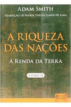 Riqueza das Nações, A: A Renda da Torre - Livro 2