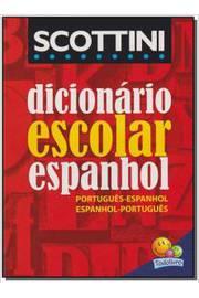 DICIONARIO ESCOLAR ESPANHOL
