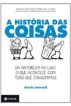 HISTORIA DAS COISAS, A - JORGE ZAHAR