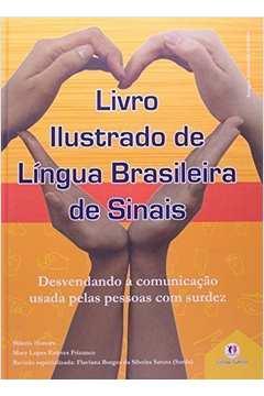 Livro Ilustrado de Língua Brasileira de Sinais - Vol.2 - Capa Laranja