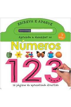 Aprenda a Escrever os Números 123 - Colecão Escreva e Apague