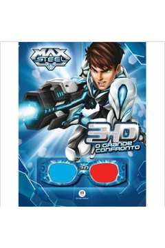 Max Steel o Grande Confronto Livro 3d