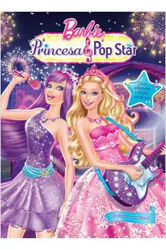 Barbie Princesa Pop Star Colecao Adesivos Filmes da Barbie