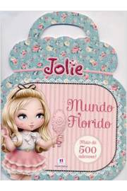 Jolie Mundo Florido Livro de Adesivos