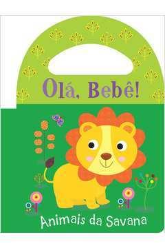 Ola Bebe Animais da Savana Livro de Banho