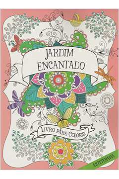 Jardim Encantado Livro para Colorir