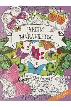 Jardim Maravilhoso Livro para Colorir