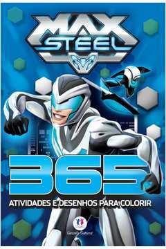 Max Steel 365 Atividades e Desenhos para Colorir