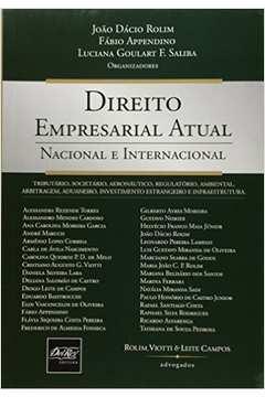 Direito Empresarial Atual: Nacional e Internacional