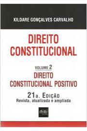 DIREITO CONSTITUCIONAL - VOLUME 2