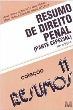 Resumo de Direito Penal: Parte Especial - Vol.11