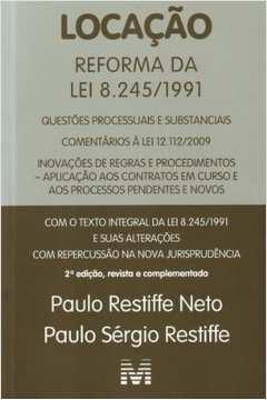 LOCACAO - REFORMA DA LEI 8.245 / 1991 - 02ED/2011