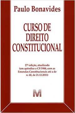 CURSO DE DIREITO CONSTITUCIONAL - 27ª ED