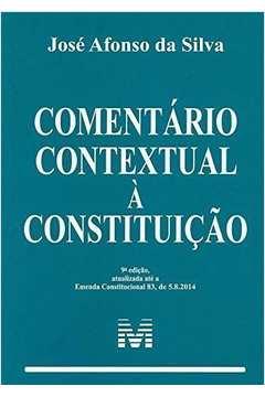 Comentário Contextual À Constituicão