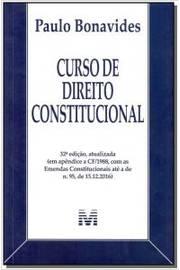 CURSO DE DIREITO CONSTITUCIONAL - 32ED/17