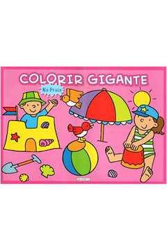 Colorir Gigante: Na Praia
