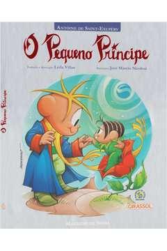 Turma da Monica o Pequeno Principe Capa Almofadada
