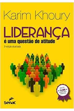 LIDERANCA E UMA QUESTAO DE ATITUDE 03ED